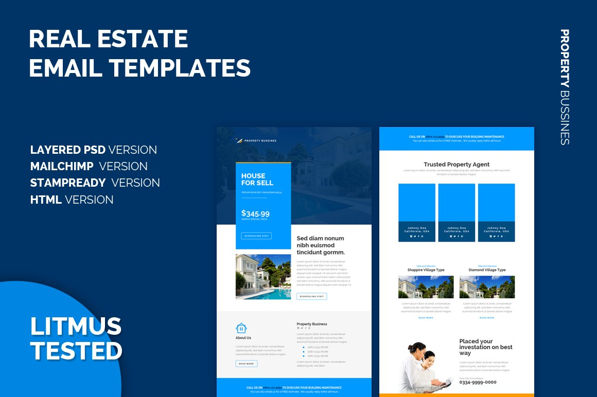 real estate email templates email templates creative market