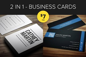 Bundle 2 in 1 - Business Cards