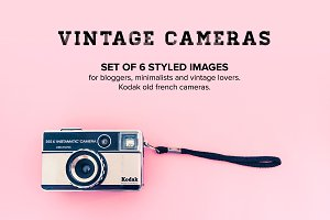 Hero Images bundle: Vintage Cameras