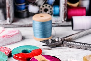 Sewing kit and accessories