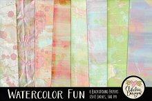 Watercolor Paint Texture Backgrounds