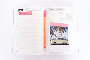 Planner and journaling. Hero Image.