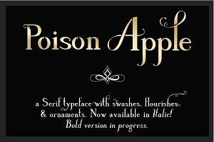 Poison Apple: a Serif & Script font