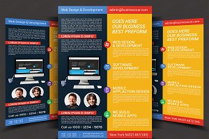 Website Design Agency Flyer