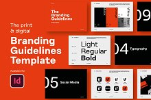 Branding Guidelines Template by  in Presentations