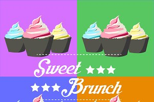 Sweet brunch poster