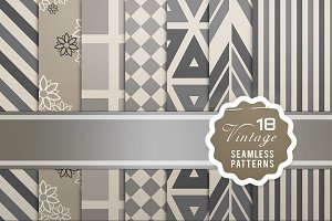 Vintage Seamless Patterns