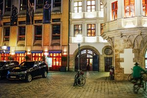 Night Streets of Munich, Germany