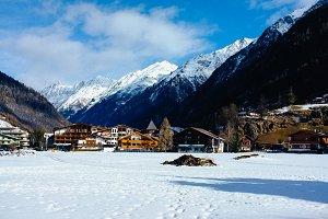 Solden, Austria Tirol Landscapes
