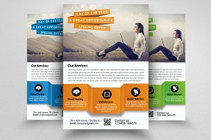 Business Approach Flyer Template