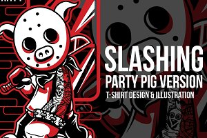 Slashing Party #1 Illustration