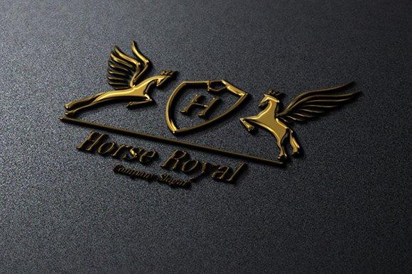 Horse Royal Logo Creative Daddy