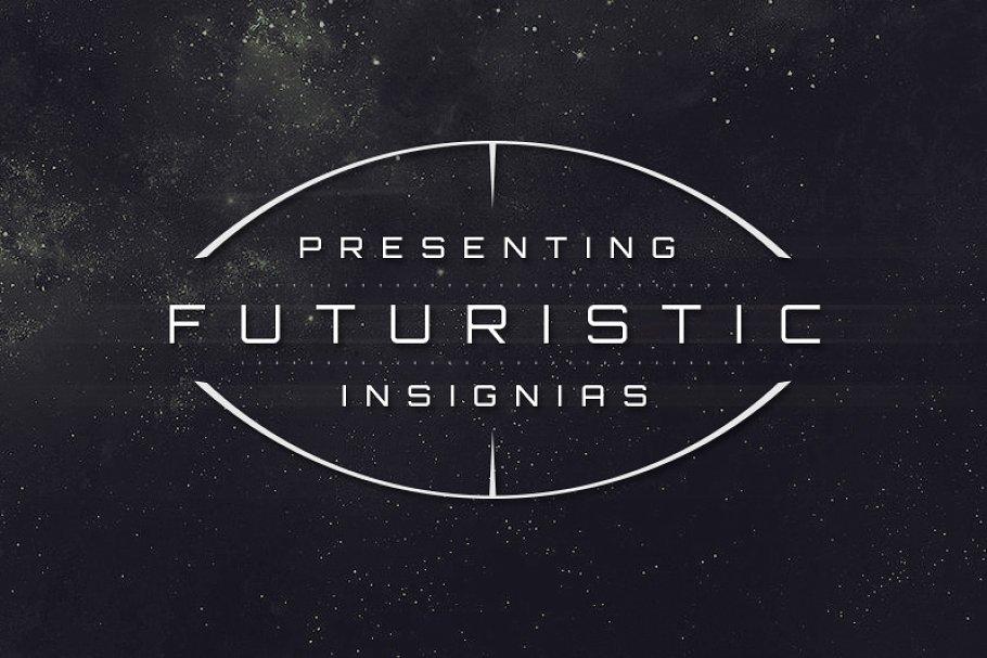 12 Sci-Fi Badges ~ Web Elements ~ Creative Market