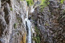 Giovannelli Gorge - lower waterfall