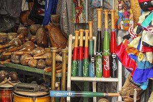 Souvenir store in Cuba