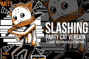 Slashing Party #3 Illustration