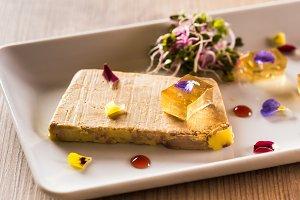 Terrine of foie gras