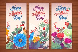 7 Floral Mother's Day Cards