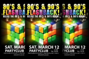 Flashback Dance Classics + FB Cover