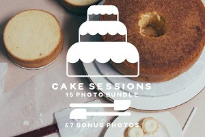 Cake Session Photo Bundle + Bonus