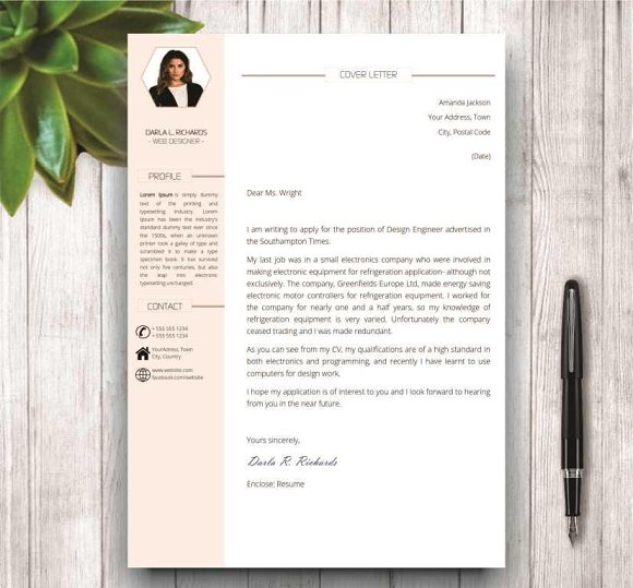 Modern Resume Template for Word in Resume Templates - product preview 1