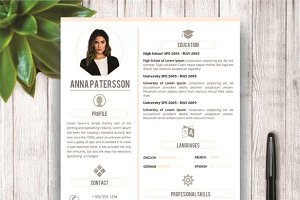 Minimalist Resume Template 4 Pages