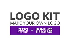 Logo Design Kit - Make Your Own Logo