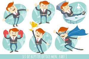 Office men set. Part 1