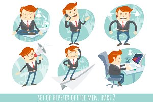 Office men set. Part 2