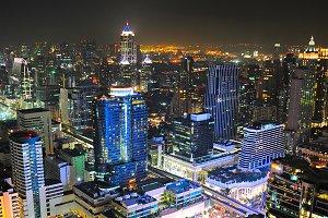 Busy Bangkok , Thailand