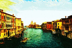 Canal Grande (painted version)