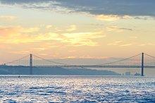 Tagus river, Lisbon, Portugal