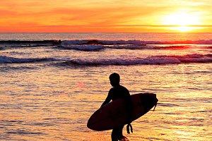 Surfer, Portugal