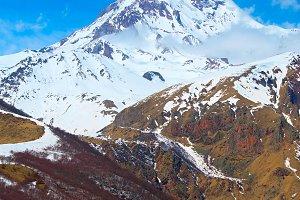 Kazbek mountains, Georgia