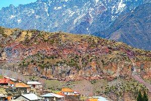 View of  mountains village, Georgia