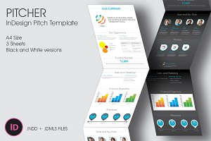 Pitcher - InDesign Pitch Template