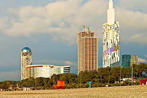 Batumi development, Georgia