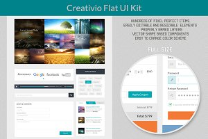 Creativio Flat UI Kit
