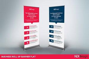 Roll up banner Flat - NEX