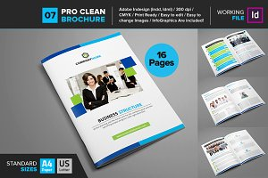 Clean Brochure Template 07