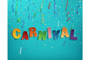 Carnival background template.
