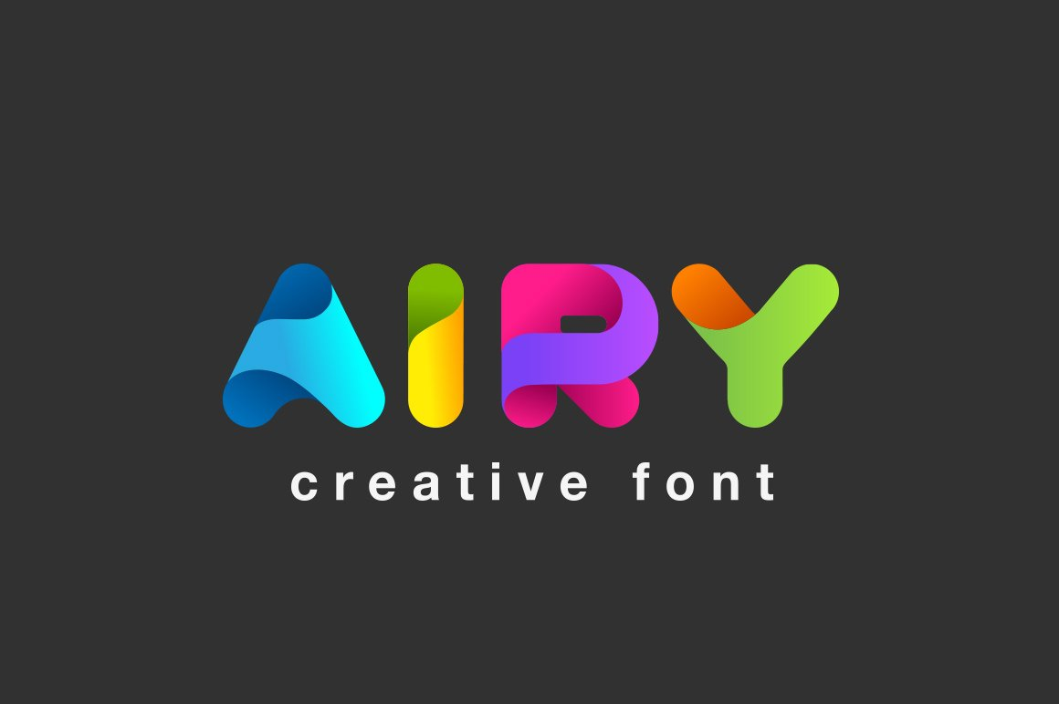 Airy Font Fonts Creative Market