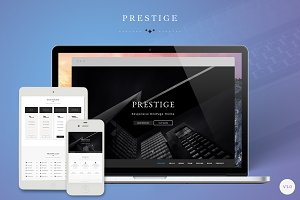Prestige Minimalistic OnePage Theme