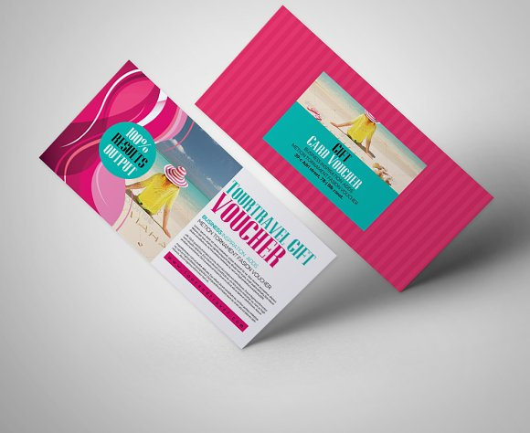 tour travel gift voucher template cards - Travel Gift Cards