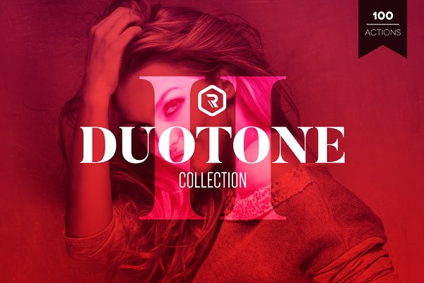 Duotone Collection II PS Actions