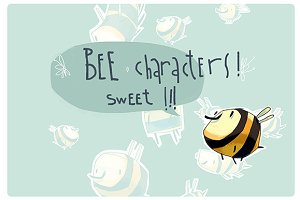 Bee characters