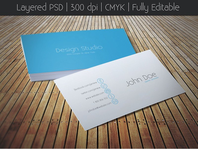 iOS Style Business Card ~ Business Card Templates ~ Creative Market