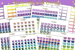 Rainbow Household Printable Stickers