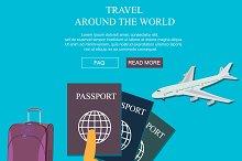 travel, vocation, vector
