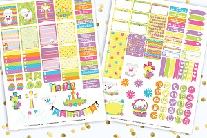 Holy Easter Printable Stickers